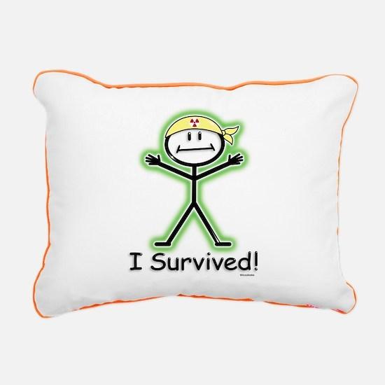 Radiation Survivor Rectangular Canvas Pillow