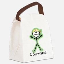 Radiation Survivor Canvas Lunch Bag