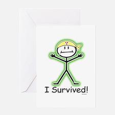 Radiation Survivor Greeting Card