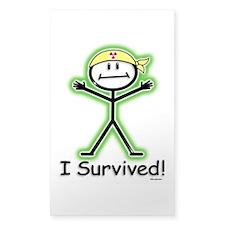 Radiation Survivor Decal