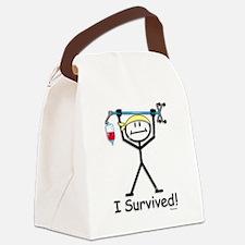 Chemo Survivor Canvas Lunch Bag