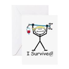 Chemo Survivor Greeting Card