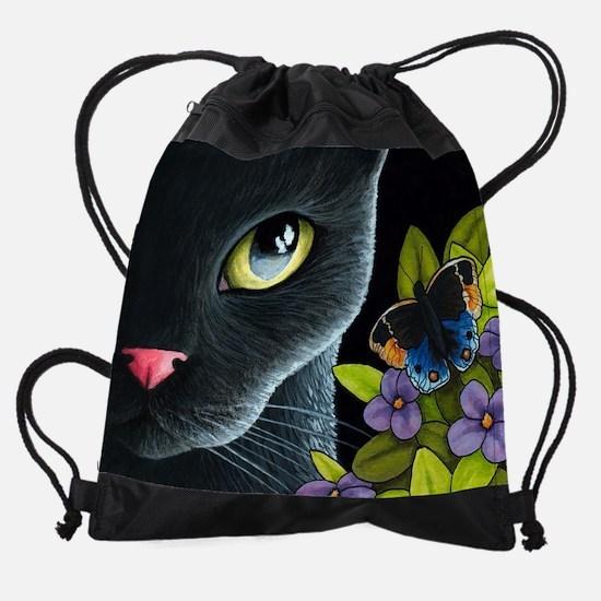 Cat 557 Drawstring Bag