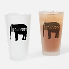 Elephant - Herbivore Drinking Glass