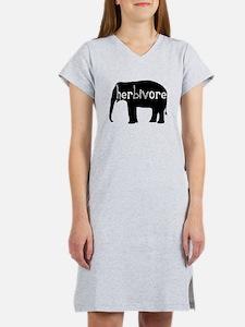 Elephant - Herbivore Women's Nightshirt