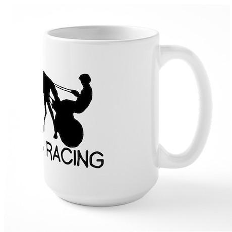 i heart Harness Large Mug