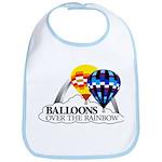 Balloons Over The Rainbow Bib