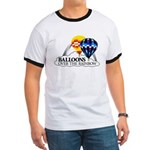 Balloons Over The Rainbow Ringer T