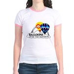 Balloons Over The Rainbow Jr. Ringer T-Shirt