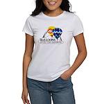 Balloons Over The Rainbow Women's T-Shirt