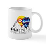 Balloons Over The Rainbow Mug
