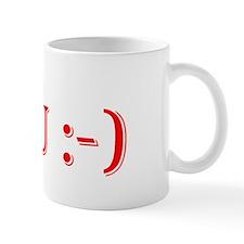I'm greater than you Smile Mug