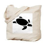 Sea Turtle Icon Tote Bag