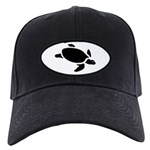 Sea Turtle Icon Black Cap