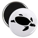 Sea Turtle Icon Magnet