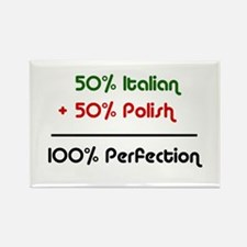 Italian & Polish Rectangle Magnet
