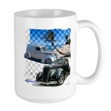 1937 ford Large Mugs (15 oz)