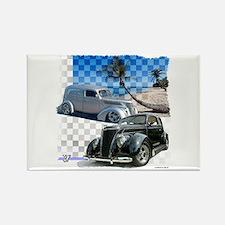 1937 Fords Rectangle Magnet