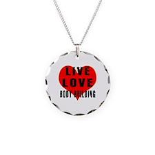 Live Love Body Building Necklace