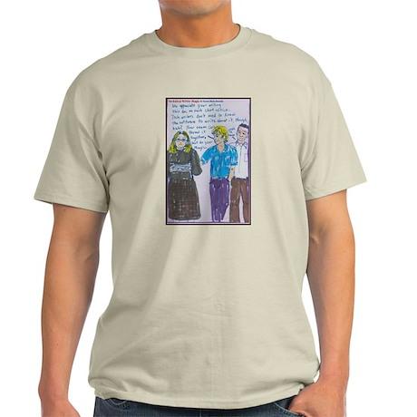 Technical Writer Magic Ash Grey T-Shirt