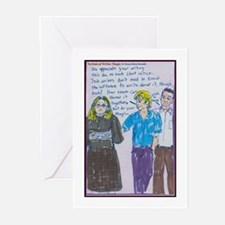 Technical Writer Magic Greeting Cards (Package of