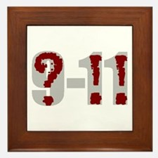 Question 9-11! (grey) Framed Tile