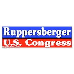 Dutch Ruppersberger Bumper Bumper Sticker