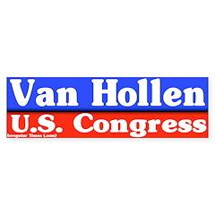 Chris Van Hollen Bumper Sticker