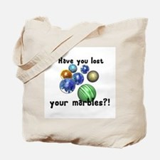 Lost Your Marbles Tote Bag