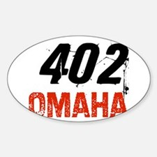 402 Oval Decal