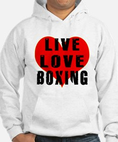 Live Love Boxing Hoodie
