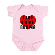 Live Love Boxing Infant Bodysuit