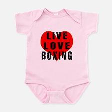 Live Love Boxing Onesie