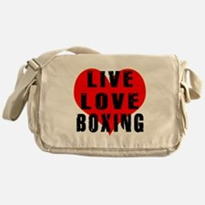 Live Love Boxing Messenger Bag