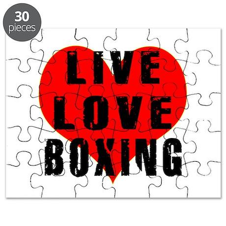 Live Love Boxing Puzzle