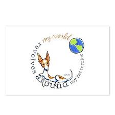 Rat Terrier World Postcards (Package of 8)