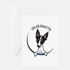 Rat Terrier IAAM Greeting Card