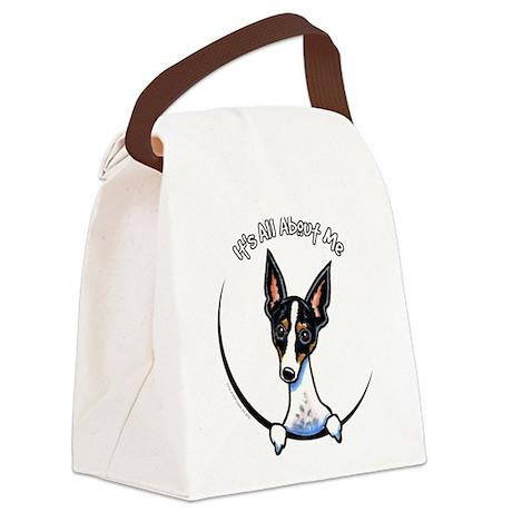 Rat Terrier IAAM Canvas Lunch Bag
