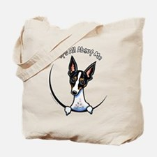 Rat Terrier IAAM Tote Bag