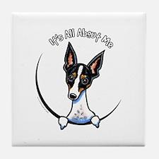Rat Terrier IAAM Tile Coaster