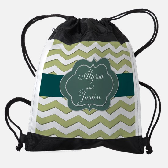 Personalize this Elegant Design Drawstring Bag