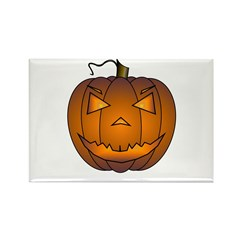 Jack -O- Rectangle Magnet (100 pack)