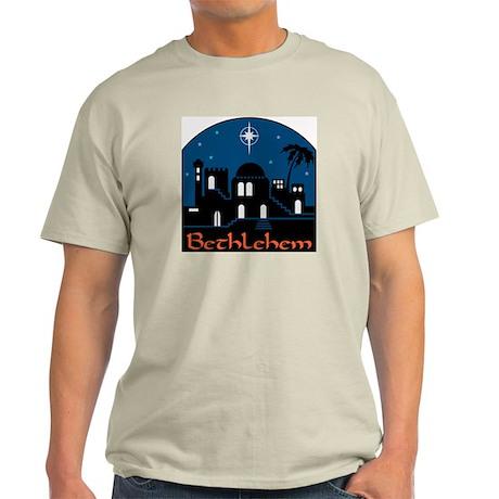 Bethlehem Lights Ash Grey T-Shirt