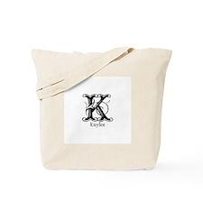 Kaylee: Fancy Monogram Tote Bag