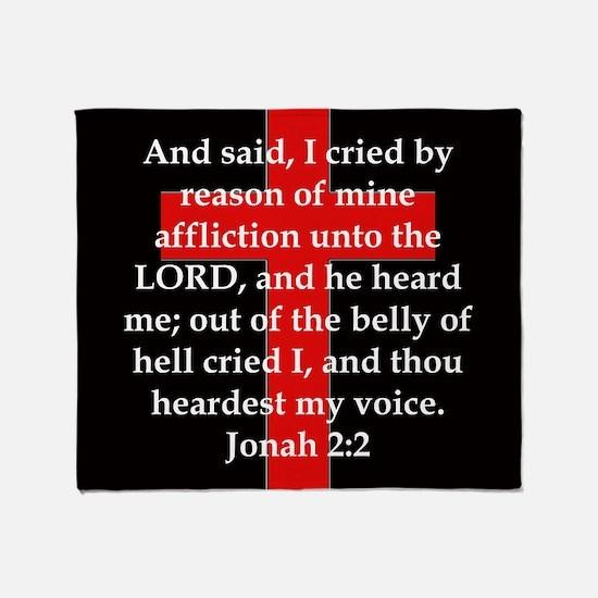 Jonah 2-2 Throw Blanket