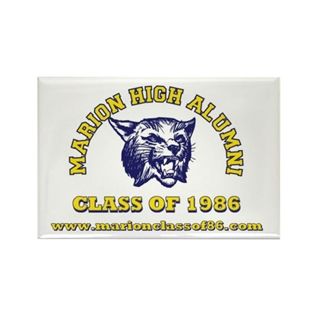 Class of 86 Rectangle Magnet (10 pack)