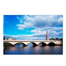 River Moy, Ballina, Count Postcards (Package of 8)
