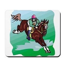 STEEPLECHASE Mousepad