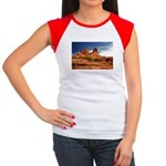 Vortex Side of Bell Rock Women's Cap Sleeve T-Shir