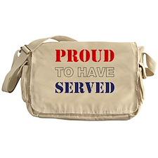 Proud To Have Served Messenger Bag